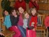 Vánoční návštěva skautek v dětském domově