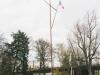Nový vlajkový stožár na Ostrově