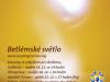 Betlémské světlo 2016 - plakát
