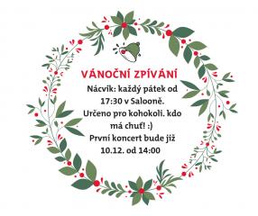 Vánoční zpívání 2017