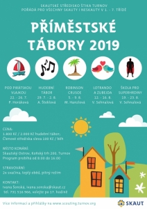 Příměstské tábory 2019