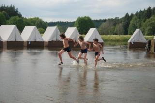 Tábor Panoženek a 4.ch.o. - Ploučnice 2011